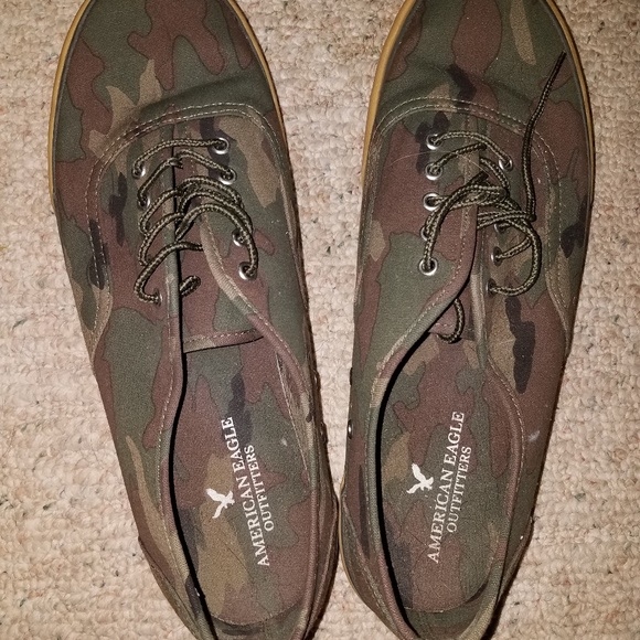 aed6c41c6473c American Eagle Outfitters Other - American eagle mens 12 camoflauge tennis  shoes